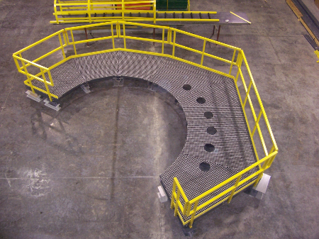FRP Platforms, Handrails and Ladders
